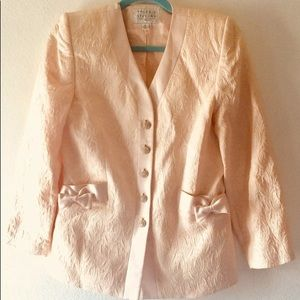 Used 1x! Valerie Stevens wool/silk blazer
